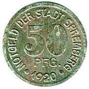 50 Pfennig - Spremberg – obverse