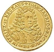 1 Ducat - Johann Ehrenreich – obverse