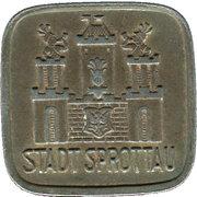 50 Pfennig - Sprottau – obverse