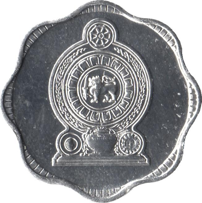 KM140a Sri Lanka 1991 10 Cents Uncirculated