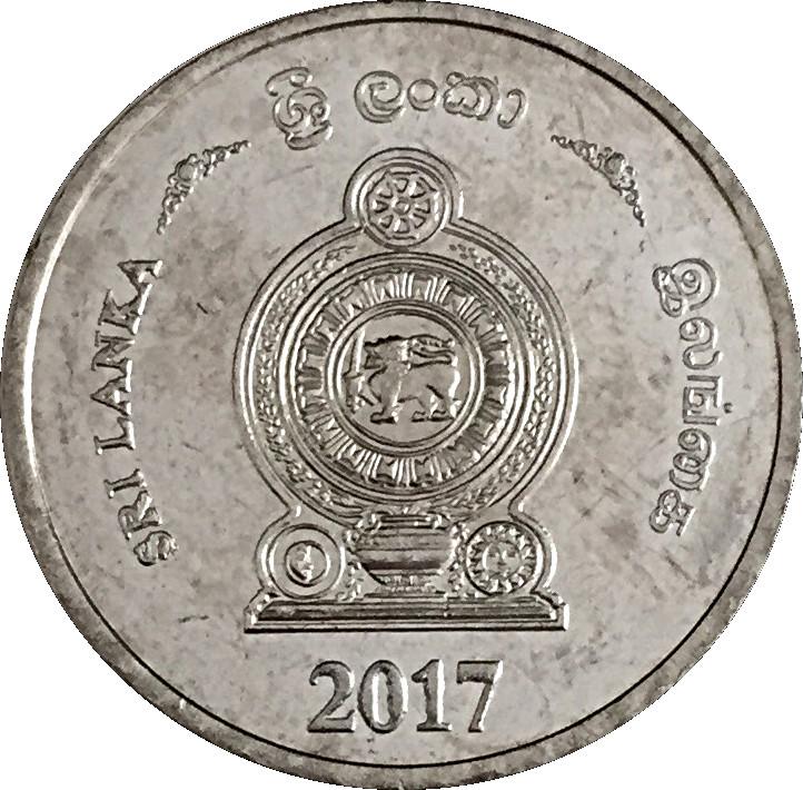 SRI LANKA 5000 5,000 RUPEES 2017 P 128 NEW DATE UNC