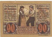 90 Heller (St. Johann in Tirol) – obverse