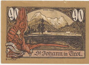 90 Heller (St. Johann in Tirol) – reverse