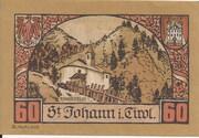 60 Heller (St. Johann in Tirol) – reverse