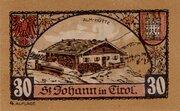 30 Heller (St. Johann in Tirol) -  reverse