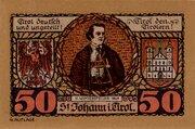 50 Heller (St. Johann in Tirol) – obverse