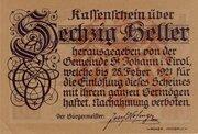 60 Heller (St. Johann in Tirol) -  obverse