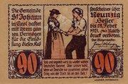 90 Heller (St. Johann in Tirol) -  obverse