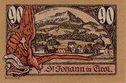 90 Heller (St. Johann in Tirol) -  reverse