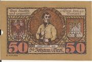 50 Heller (St. Johann in Tirol) – reverse