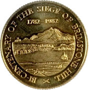 100 Dollars - Elizabeth II (Brimstone Hill) – reverse