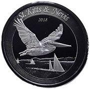 2 Dollars - Elizabeth II (Brown Pelican) -  reverse