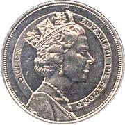10 Dollars - Elizabeth II (Royal Visit) – reverse