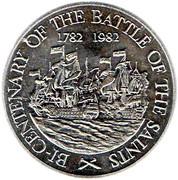 10 Dollars - Elizabeth II (Battle of the Saints) – reverse