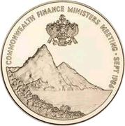 10 Dollars - Elizabeth II (Commonwealth Finance Ministers' Meeting) – reverse