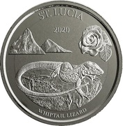 2 Dollars - Elizabeth II (Whiptail Lizard) – reverse