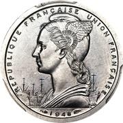 2 Francs (Pattern) – obverse