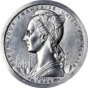 1 Franc (Piedfort Essai) – obverse