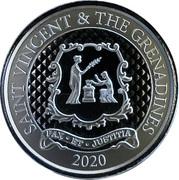 2 Dollars - Elizabeth II (Pax et Justitia) – reverse