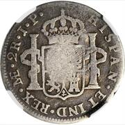 4 ½ Bits (Counterstamp on Peru 2 Reales KM# 95) – reverse