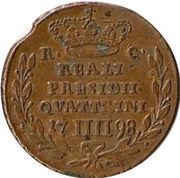 4 Quattrini - Ferdinando IV – reverse