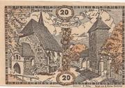 20 Heller (Stefanshart) – obverse