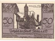50 Heller (Stein an der Donau) – obverse