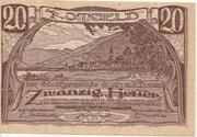 20 Heller (Stein an der Donau) -  obverse