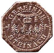 10 Pfennig - Steinach – obverse