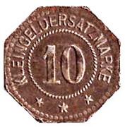 10 Pfennig - Steinach – reverse