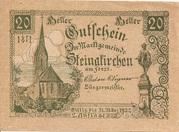 20 Heller (Steinakirchen) – obverse