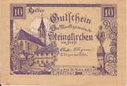 10 Heller (Steinakirchen) – obverse