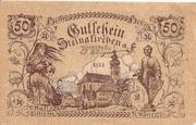 50 Heller (Steinakirchen) – obverse