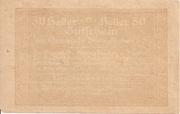50 Heller (Steinakirchen) – reverse