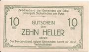 10 Heller (Steinakirchen am Forst - Zweckverband der Gemeinden des Schulsprengels) – obverse