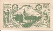 10 Heller (Steinakirchen am Forst - Zweckverband der Gemeinden des Schulsprengels) – reverse