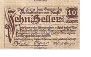 10 Heller (Steinakirchen am Forst) – obverse