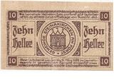 10 Heller (Steinakirchen am Forst) – reverse