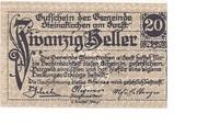 20 Heller (Steinakirchen am Forst) – obverse