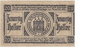 20 Heller (Steinakirchen am Forst) – reverse