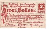 2 Heller (Steinakirchen am Forst) – obverse