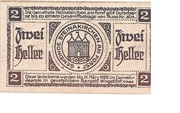2 Heller (Steinakirchen am Forst) – reverse