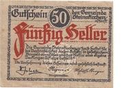 50 Heller (Steinakirchen am Forst) – obverse