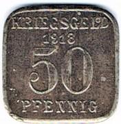 50 Pfennig - Sterkrade -  obverse