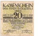 20 Heller (Stockerau) – obverse