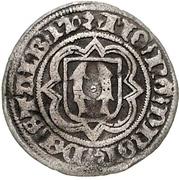 ½ Groschen - Heinrich XIX., Heinr. XX. and Botho III. – reverse