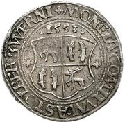 ½ Thaler - Wolfgang, Ludwig, Heinrich, Albrecht Georg and Christoph – reverse