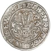 ¼ Thaler - Ludwig II., Heinrich XXI., Albrecht Georg, Christoph I. and Wolf Ernst – obverse