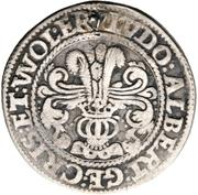 ¼ Thaler - Ludw. II., Albrecht Georg, Christoph I. and Wolf Ernst – obverse