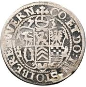 ¼ Thaler - Ludw. II., Albrecht Georg, Christoph I. and Wolf Ernst – reverse